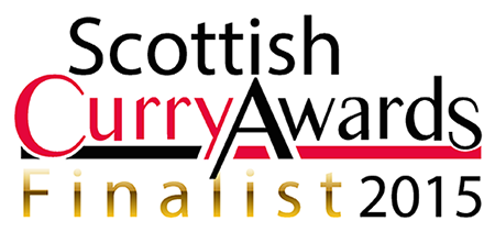 The Scottish Curry Awards 2015 - Finalist Ebadge